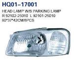 Accent 2000 Auto Lamp, Headlight, Headlight Crystal, Tail Lamp, Tail Lamp Crystal, Back Lamp, Rear Lamp, Fog Lamp (92102-25010, 92101-25010, 92102-25100, 92101-25100, 92102-25000, 92101-25000, 92102-1A200, 92101-1A200, 92402-25010, 92401-25010, 92402-25200, 92401-25200, 92402-1A060, 92401-1A060, 92202-25000, 92201-25000, 92202-25200, 92201-25200, 92202-25300, 92201-25300)