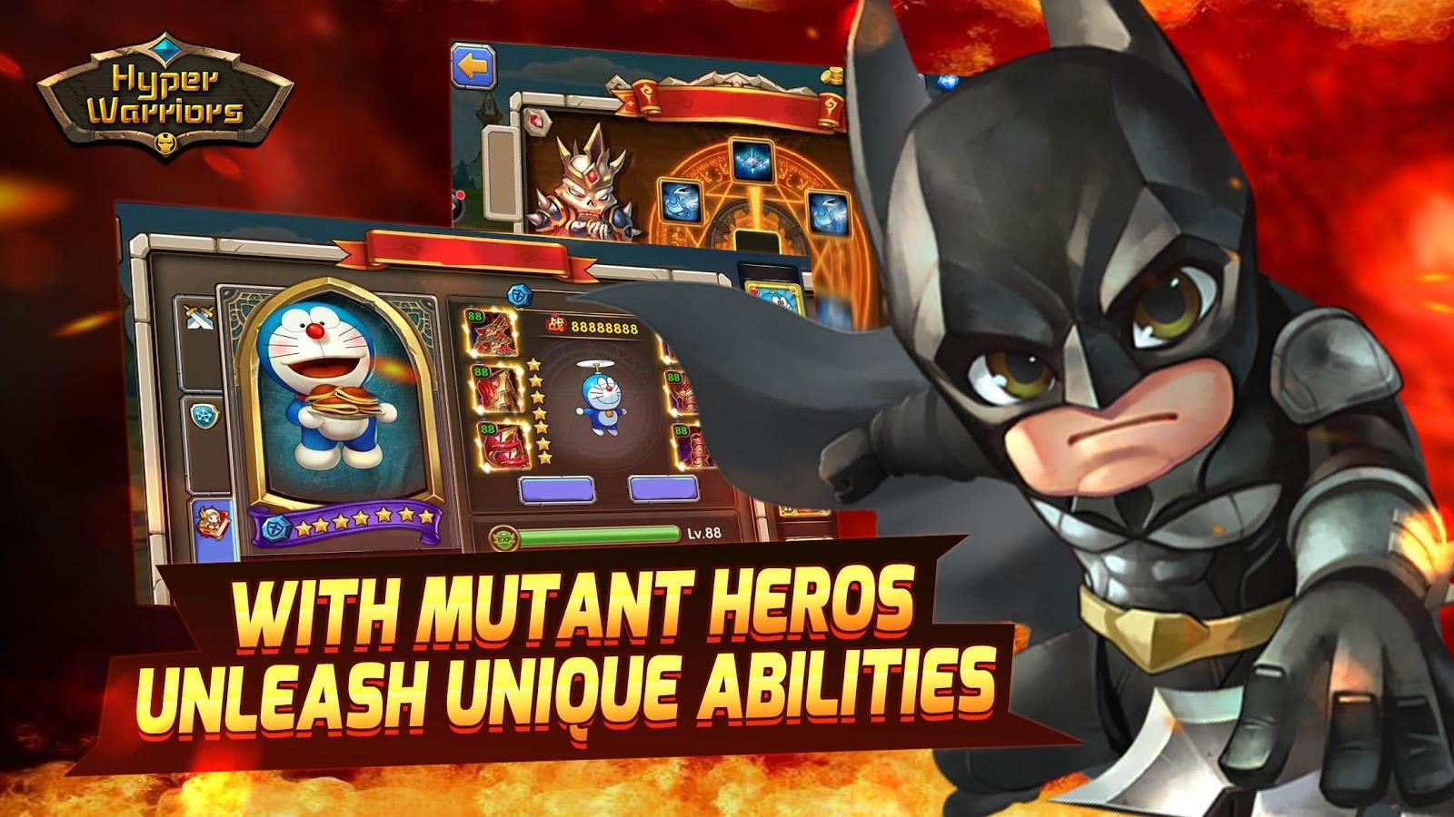 Hyper-Krieger: Mutante Helden android spiele download