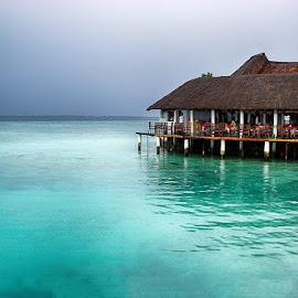 Maldives by Abdul Rehman - Buildings & Architecture Office Buildings & Hotels ( hut, sea, seascape, maldives, island )