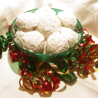 Coconut Orange Snowball Cookies