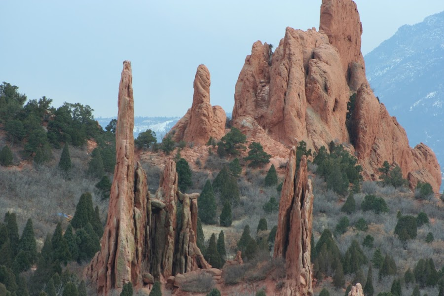 Garden of the Gods by Laurie Ramsey - Landscapes Mountains & Hills ( hills, hill, mountain, vote, winner, beauty, the, landscape, gods, amazing, of, nature, gorgeous, garden, garden of the gods )