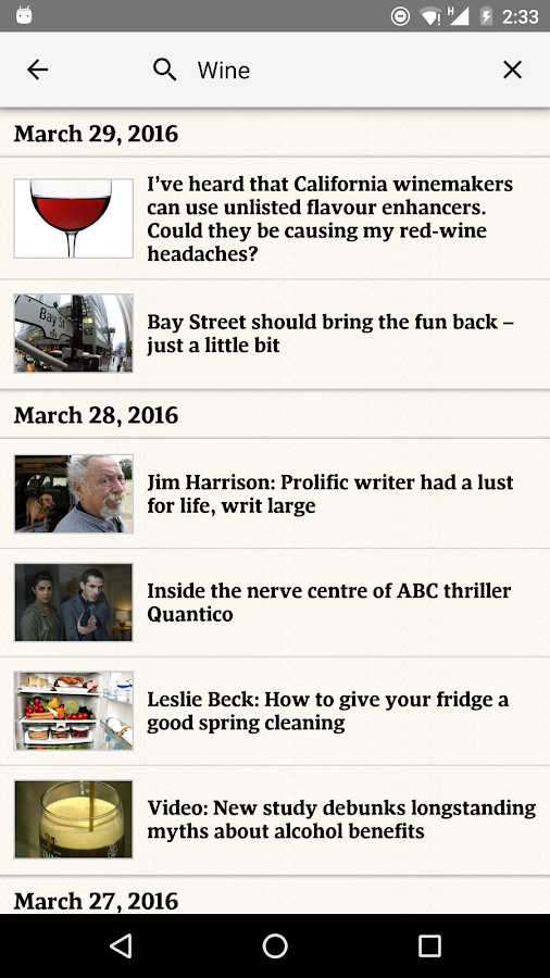 The Globe and Mail: News Screenshot 4