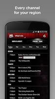 Screenshot of Yahoo7 TV Guide