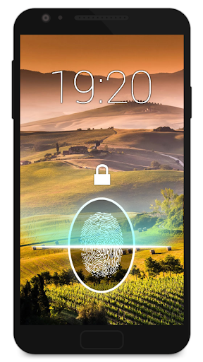 Fingerprint Lock Screen Prank screenshot 4