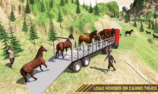 Horse Transport Truck Sim 19 -Rescue Thoroughbred screenshot 4