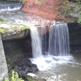 Water Falls at Lanterman Mill by Rosemary Isabella - Nature Up Close Water (  )