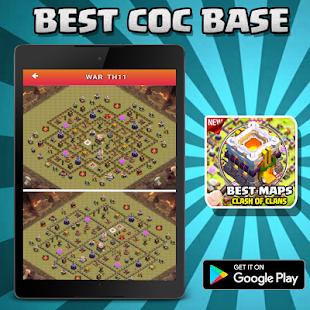 Best coc base 2017 APK for Bluestacks