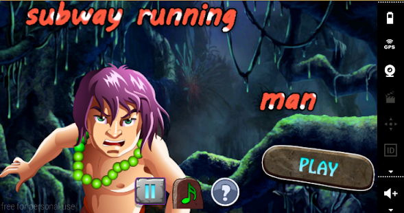 Subway Running Man - screenshot