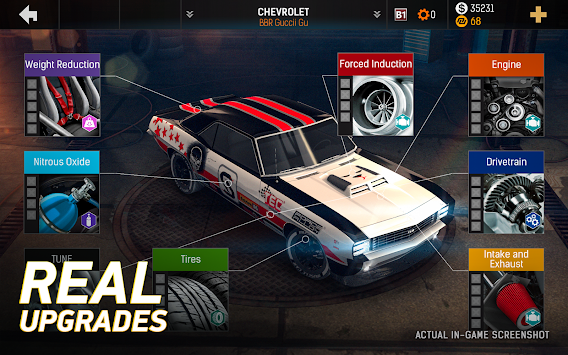 Nitro Nation Online APK screenshot thumbnail 3