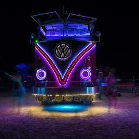 VW Art Bus by George Krieger - News & Events Entertainment ( burningman )