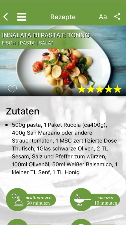 Kochen Italien android apps download