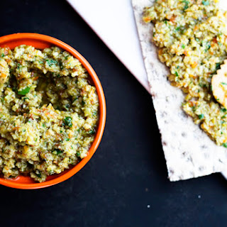 Green Olive Tapenade | Make Ahead Mondays {GIVEAWAY}