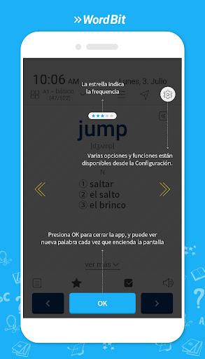 WordBit Inglés [Lockscreen] screenshot 9