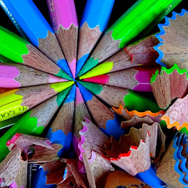 Pencils  by Asif Bora - Artistic Objects Education Objects