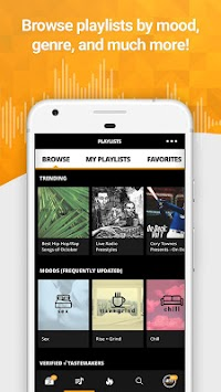 Audiomack Mixtapes & Music App APK screenshot thumbnail 3