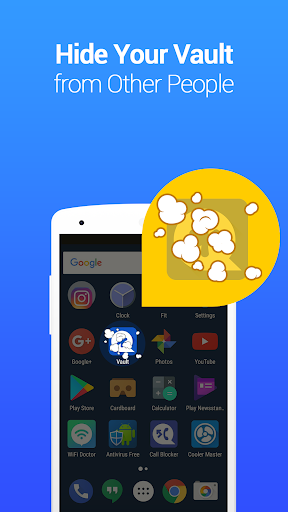 Vault-Hide SMS,Pics & Videos,App Lock,Cloud backup screenshot 4