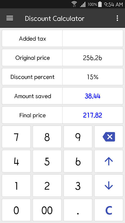 ClevCalc - Calculator Screenshot 4