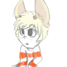 tiny deer boy