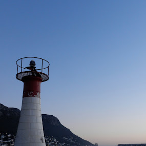 Lighthouse by Kirsty Wilkins - Novices Only Objects & Still Life ( kalk bay, lighthouse )