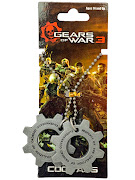 "Кулоны ""Gears of War"" Metal COG Tags"