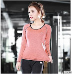 Latest Design Seamless Women Fitness Yoga Wear Long Sleeves For Sports Active Wear