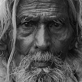 by Rakesh Syal - Black & White Portraits & People