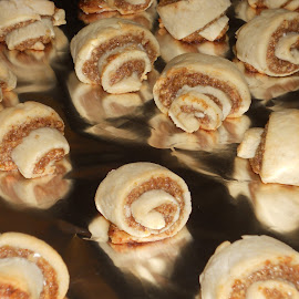 Rugelach by Renata Jelito - Food & Drink Cooking & Baking ( cookie, rugelach, cream cheese, apricot preserves, nuts,  )