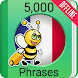 Learn French - 5000 Phrases