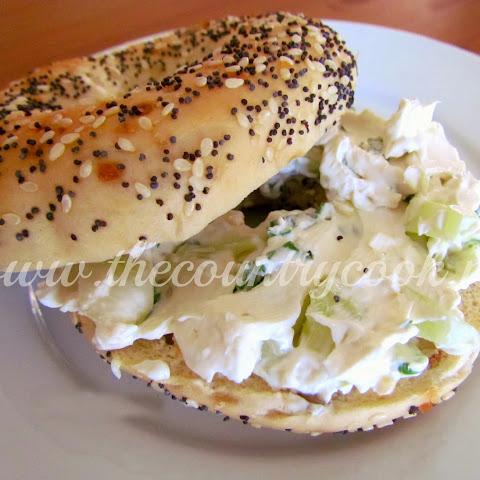 Cucumber Cream Cheese Spread