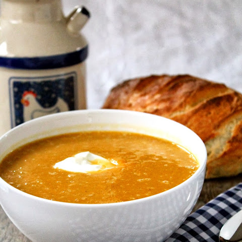 Masala-Spiced Roasted Butternut Squash Soup