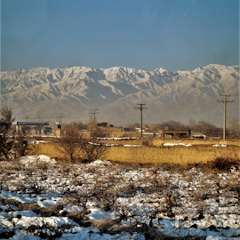 Snow on the ground by Benito Flores Jr - Landscapes Mountains & Hills ( mountains, snow, afghanistan, travel, landscape )
