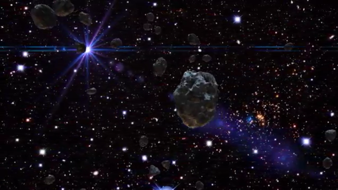Asteroids Live Wallpaper Screenshot 5