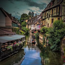 Colmar (Alsace, France) by Arif Sarıyıldız - City,  Street & Park  Vistas ( colorful, beautiful, alsace, france, travel photography, colmar )