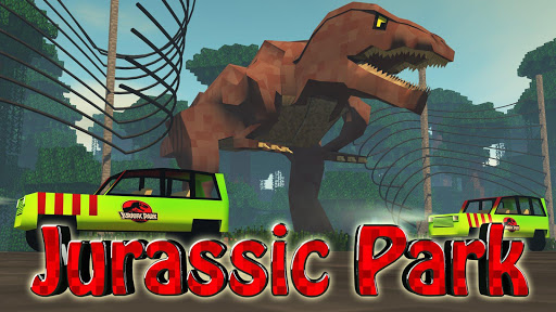 Jurassic Craft : Blocks Zoo For PC