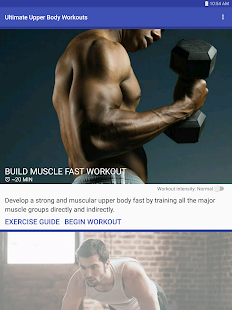 Ultimate Upper Body Workouts Screenshot Thumbnail