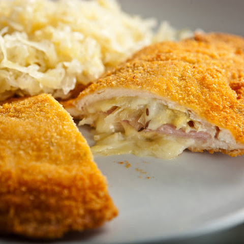 Crisp Stuffed Chicken Cutlets