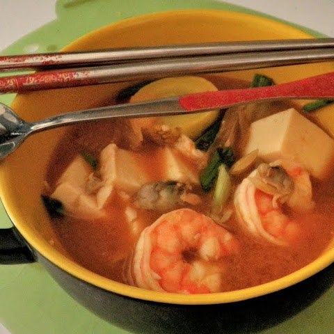 Doengjang Jjigae (Korean Soybean Paste and Vegetable Soup)