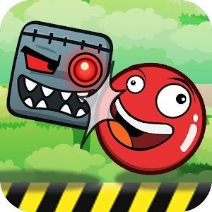 Red Roll Ball Adventure - Jump Ball New Adventure
