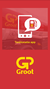 GP Groot tanklocatie app - screenshot