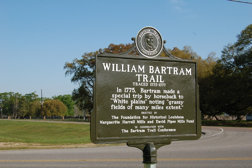 In 1775, Bartram made aspecial trip by horseback to