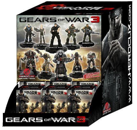 "Фигурка ""Heroclix"" Gears of War Gravity Feed"