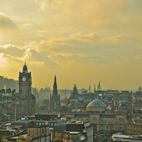 Edinburgh by Jordi Godino - City,  Street & Park  Vistas