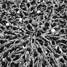 United we stand, divided we fall... by Kaustubh Basankar - People Portraits of Men