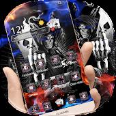 App Skull Grim Reaper Theme APK for Kindle