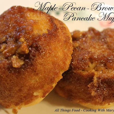 Maple-Pecan-Brown Sugar Pancake Muffins