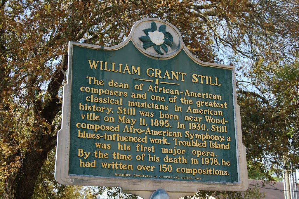 The dean of African-American composers and one of the greatest classical musicians in American history, Still was born near Woodville on May 11, 1895. In 1930, Still composed Afro-American Symphony, ...