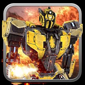 Robot Battle Live wallpaper (shake&get 3D effect) For PC