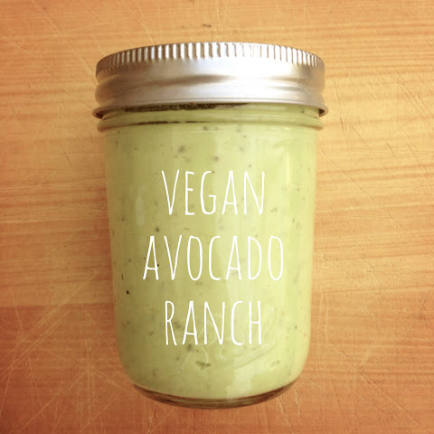 Vegan Avocado Ranch Dressing