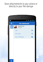 Screenshot of GMX Mail