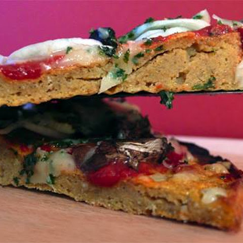 Gluten-Free Sweet Potato Protein Pizza
